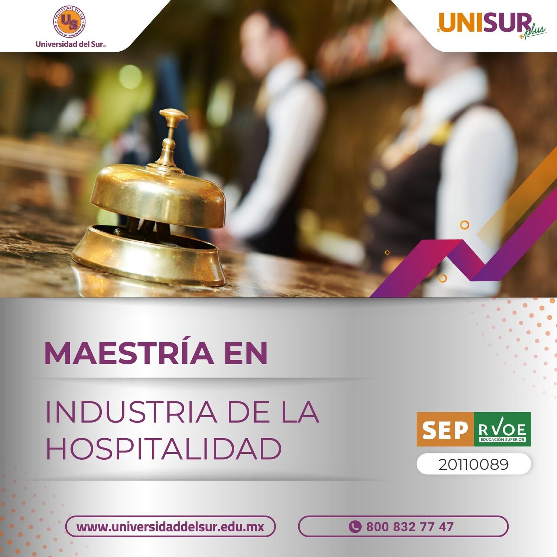 Maestría en Industria de la Hospitalidad Colegiatura