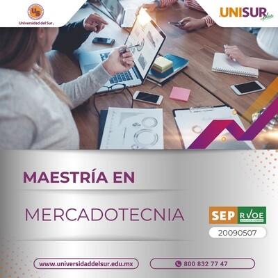 Maestría en Mercadotecnia Colegiatura
