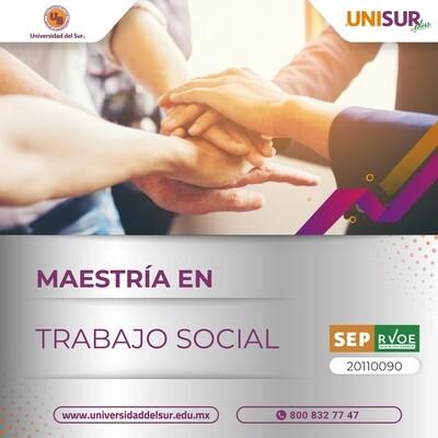 Maestría en Trabajo Social Inscripción