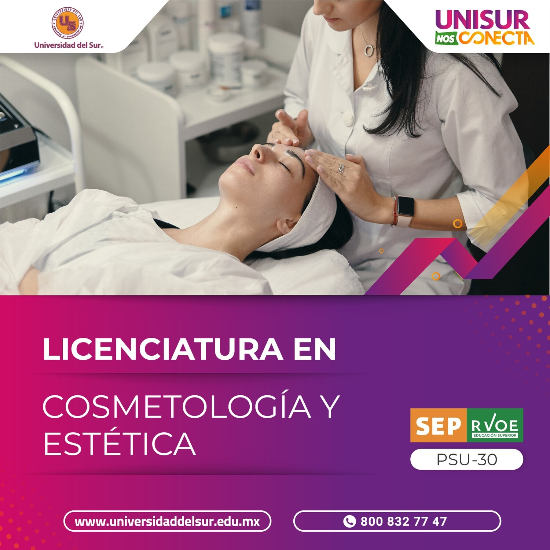 Licenciatura en Cosmetología y Estética inscripción