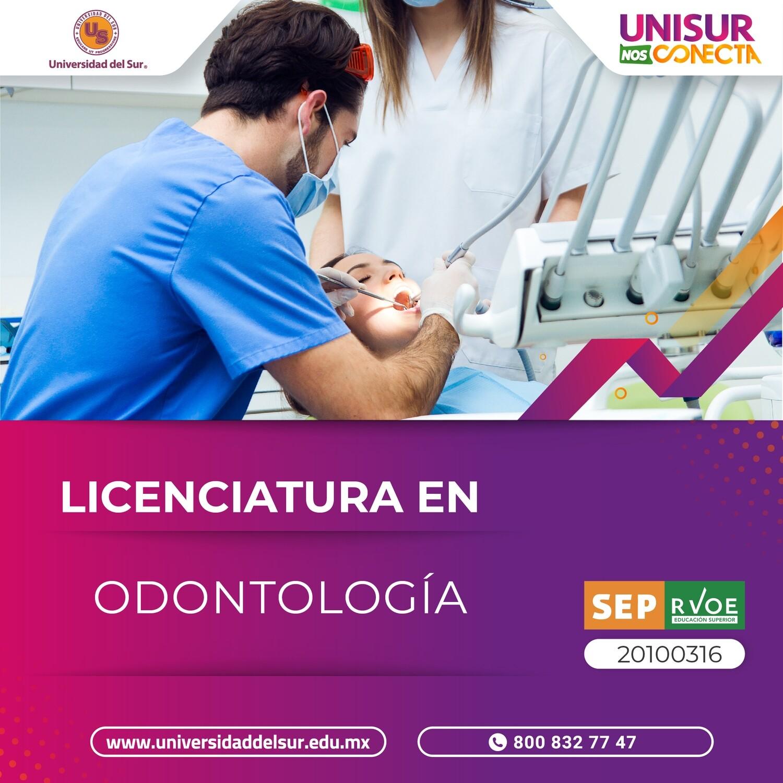 Licenciatura en Odontología Colegiatura