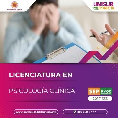 Licenciatura en Psicología Clínica Colegiatura