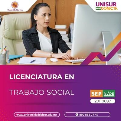 Licenciatura en Trabajo Social Inscripción