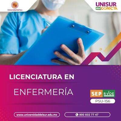 Licenciatura en Enfermería Inscripción