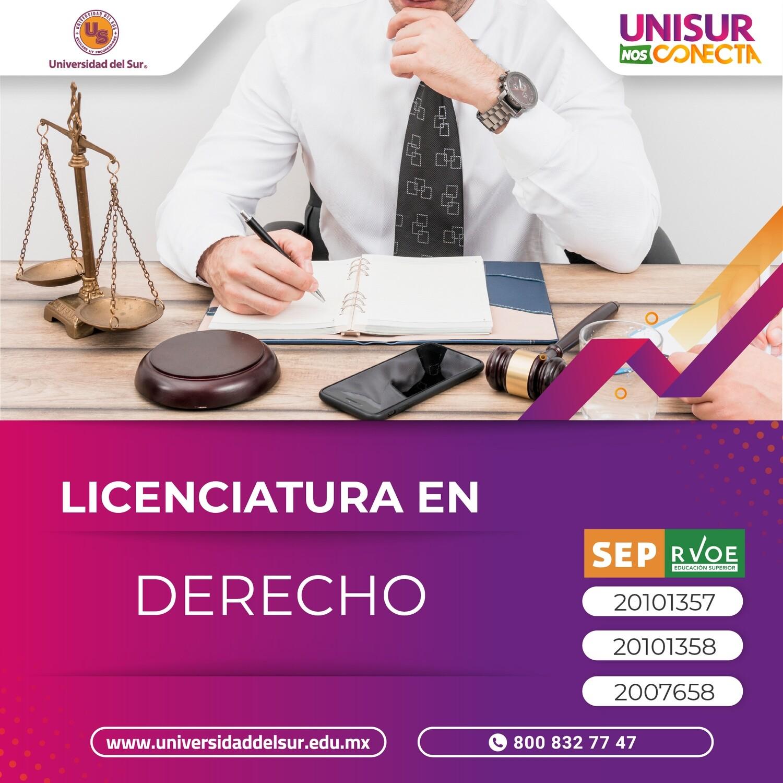 Licenciatura en Derecho Inscripción