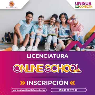 Licenciatura Online School 2.0 Inscripción