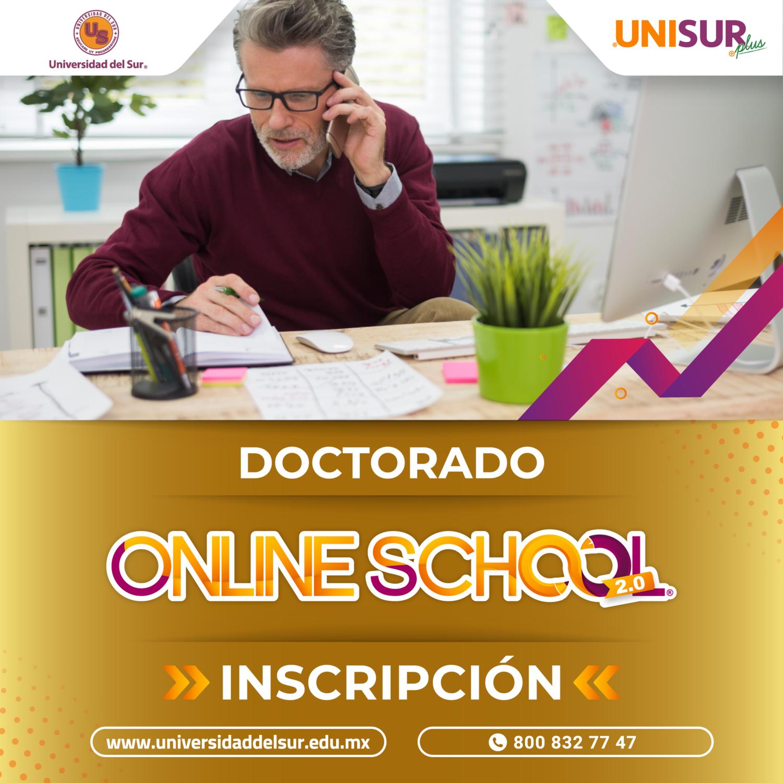 Online School 2.0 Doctorado Inscripción