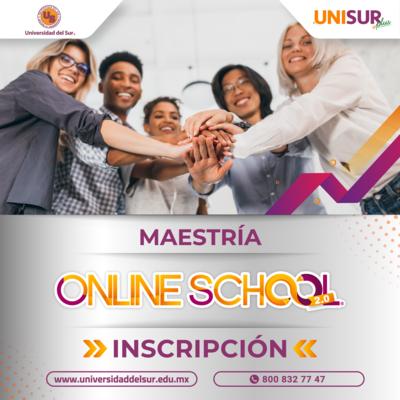 Online School 2.0 Maestría Inscripción