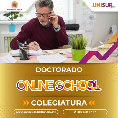 Online School 2.0 Doctorado Colegiatura