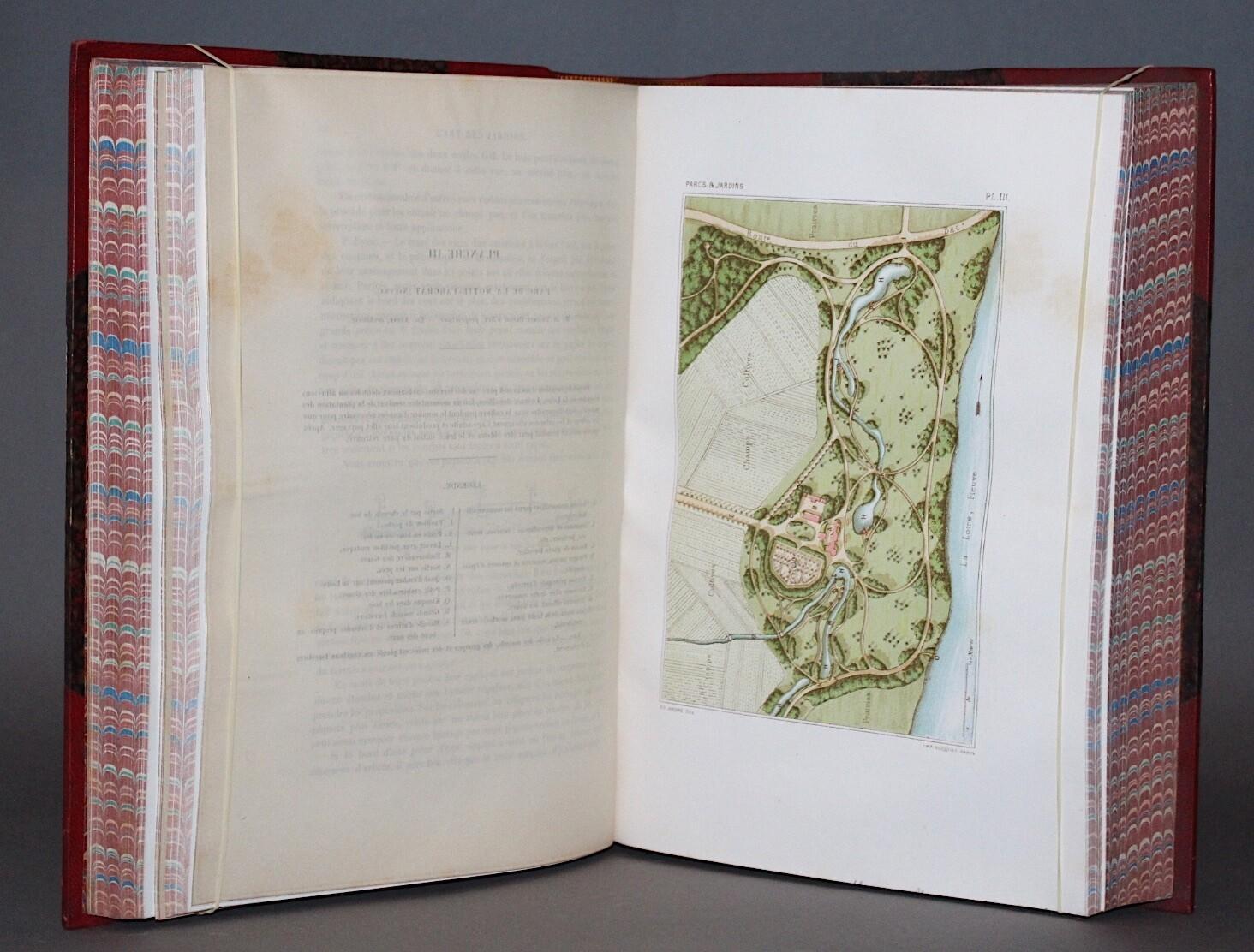 ANDRÉ.- L'Art des Jardins, (1879). Bel exemplaire.