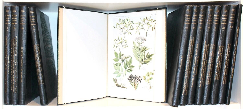 BONNIER.- Flore complète illustrée en couleurs de France, (1911-1934). Edition originale ornée de 721 planches en couleurs.