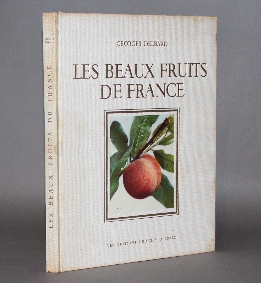 DELBARD.- Les beaux Fruits de France, 1947.