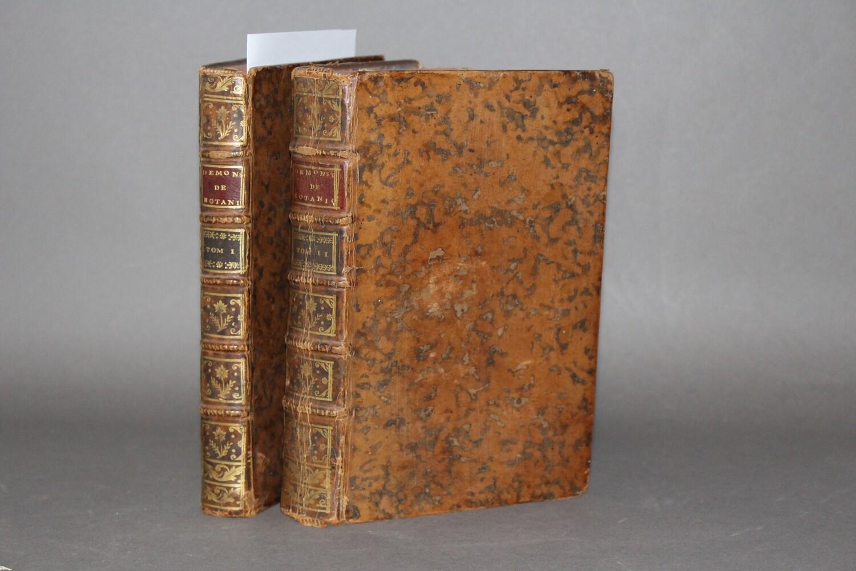CLARET de La TOURETTE.- Démonstrations élémentaires de botanique, 1766. Edition originale ornée de 8 planches gravées.