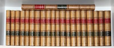 THIERS.- Histoire du Consulat et de l'Empire, 1845-1862.- 21 volumes avec l'atlas. Bel exemplaire.