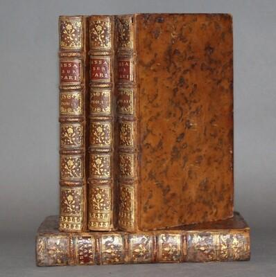 SAINT-FOIX.- Essais historiques sur Paris, 1759, 1763. Avec le supplément.