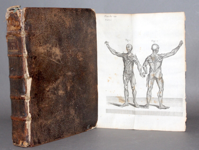NIEUWENTIJT.- L'existence de Dieu démontrée par les Merveilles de la nature..., 1725. Première traduction française ornée de 29 planches gravées.