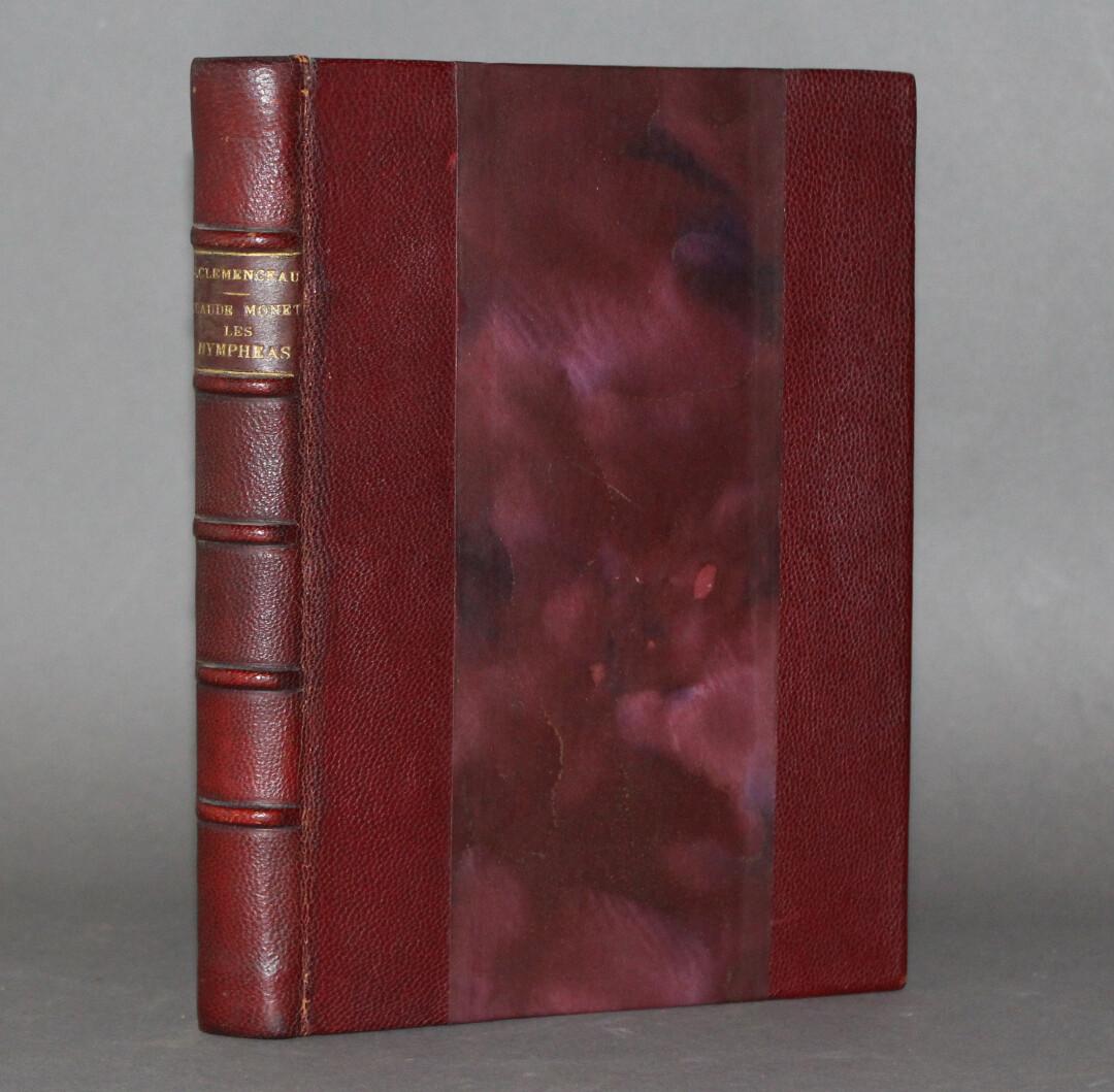 CLÉMENCEAU.- Claude Monet. Les Nympheas, 1928. Édition originale.