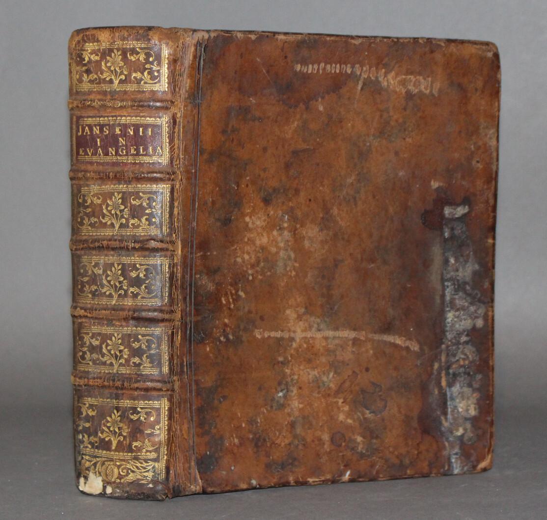 JANSENIUS.- Tetrateuchus sive commentarius in Sancta Jesu Christi Evangelia, 1753-1761.