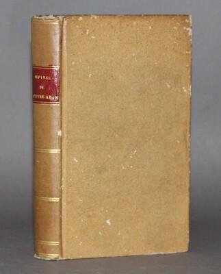(NIVERNAIS) BILLAUT.- Oeuvres de Maître Adam Billaut..., 1806.
