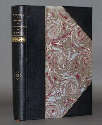 DONIOL.- Histoire du XVIè arrondissement de Paris, 1902. Édition originale.