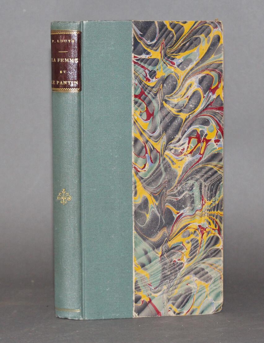 LOUYS, Pierre.- La Femme et le pantin, 1899. Première édition illustrée.