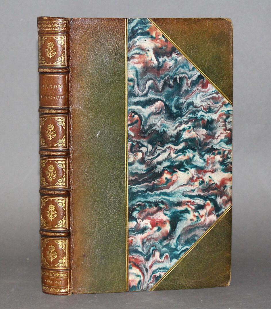PREVOST.- Histoire de Manon Lescaut... Avec une notice par M. Anatole France..., 1878