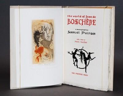[DE BOSSCHÈRE] PUTNAM, Samuel. The World of Jean de Bosschère, 1932.