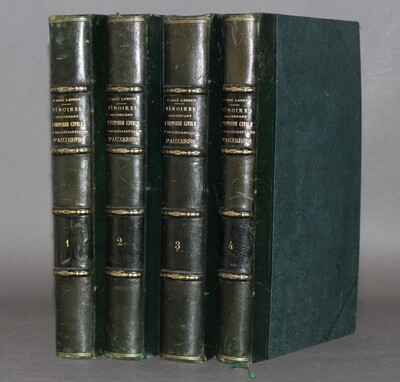 LEBEUF.- Mémoires concernant l'histoire civile et ecclésiastique d'Auxerre, 1848-1855. Nouvelle édition augmentée.