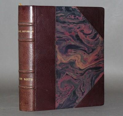 HUYSMANS & MALO-RENAULT (illustrateur).- En Route., 1921. Bel exemplaire sur vergé teinté.