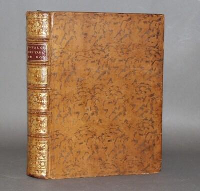 LÉPICIÉ.- Catalogue raisonné des tableaux du Roy, 1752-1754. Bel exemplaire.