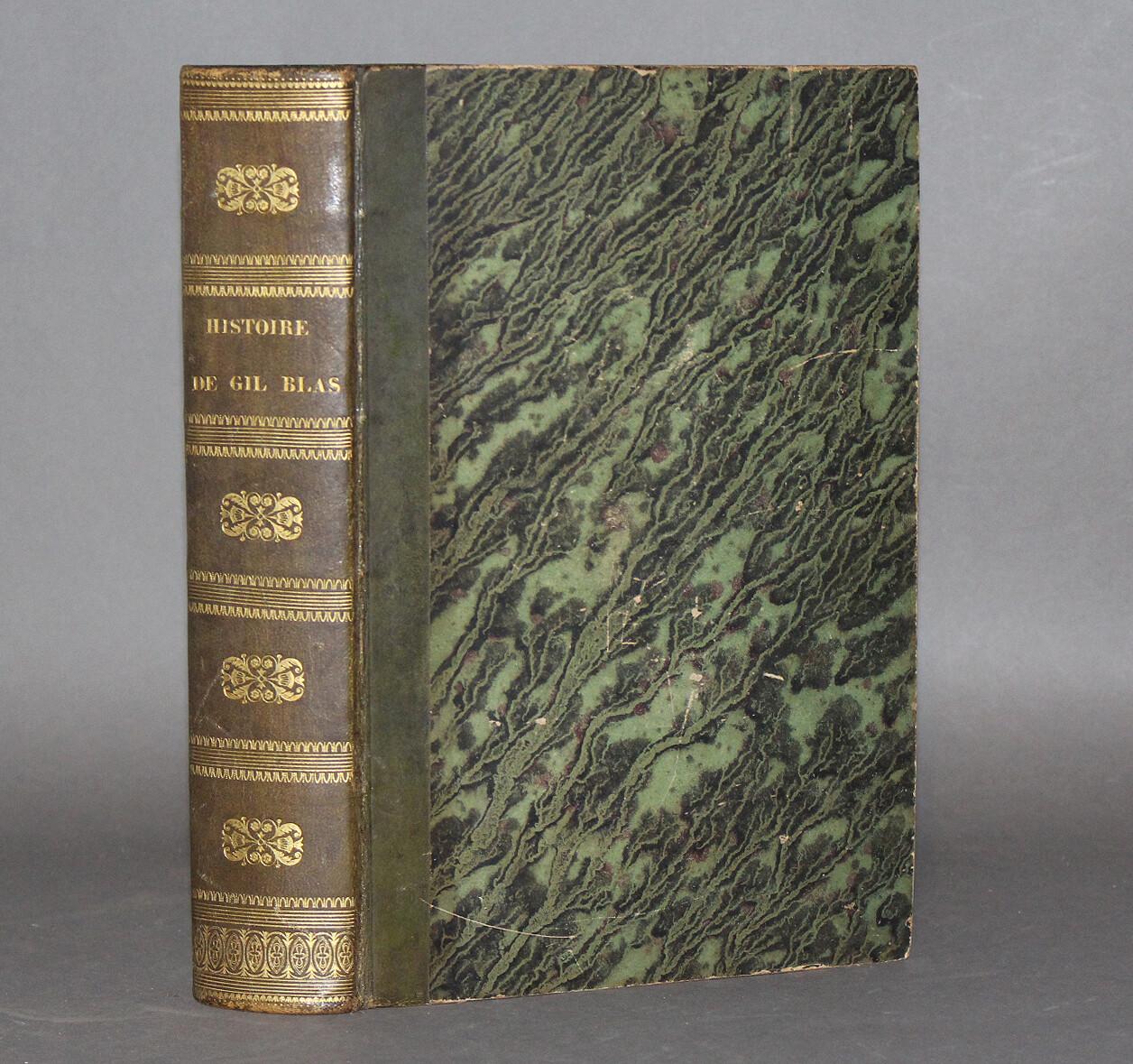 LESAGE.- Histoire de Gil Blas de Santillane, 1835.
