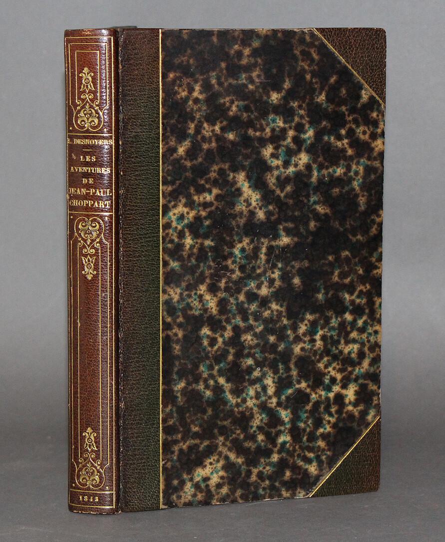DESNOYERS & SÉGUIN, illustrateur.- Les Aventures de Jean-Paul Choppart, 1843