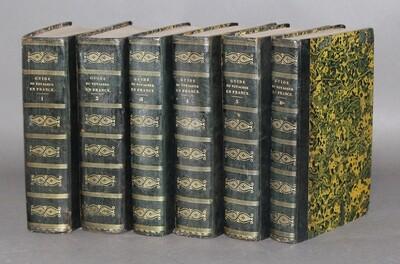 GIRAULT de SAINT-FARGEAU.- Guide pittoresque du voyageur en France, 1838.- 6 volumes.