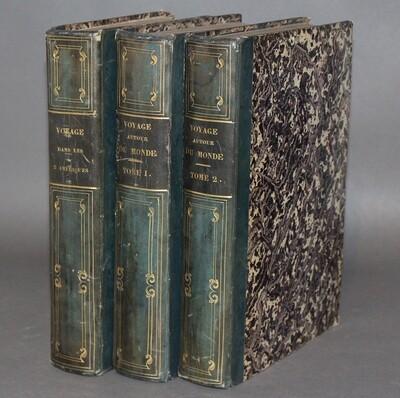 DUMONT d'URVILLE & ORBIGNY.- Voyage pittoresque autour du monde & Voyage pittoresque dans les deux Amériques, 1834-1835, 1836.