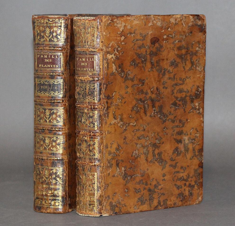 ADANSON.- Famille des plantes, 1763. Édition originale.