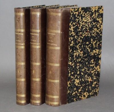 MARSCHALL de BIEBERSTEIN.- Flora Taurico-Caucasica, 1808-1819. Édition originale de la flore du Caucase.