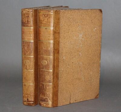 CANDOLLE.- Regni vegetabilis systema naturale, 1818-1821. Édition originale de cet ouvrage fondamental qui constitue une sorte d'introduction au Prodromus qui fut publié à partir de 1824.