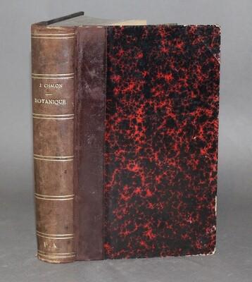 CHALON.- Botanique, anatomie & physiologie, 1884. Édition originale.