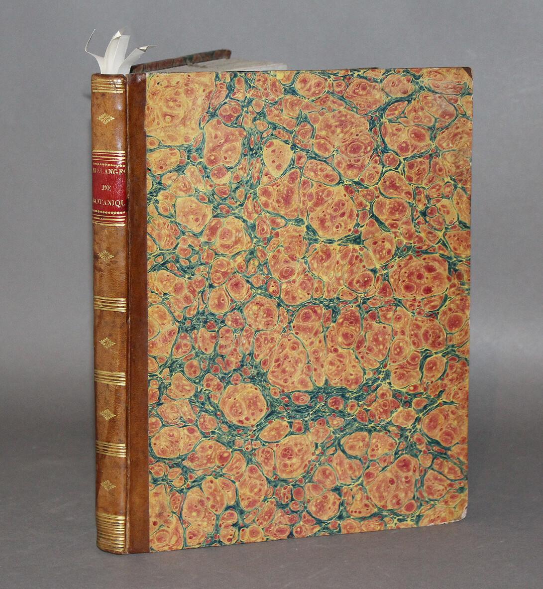 """CANDOLLE ; RAFFENEAU DELILE ; GAY & GUILLEMIN.- """"Recueil de huit ouvrages botaniques"""", 1821-1826."""
