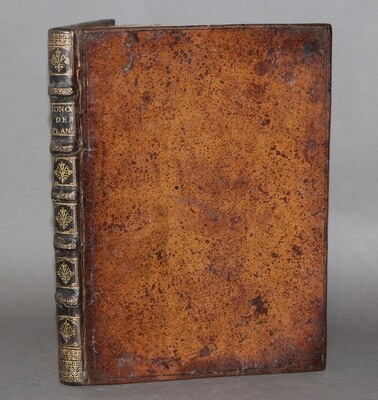 JONCQUET.- Hortus, sive Index Onomasticus Plantarum, 1659. Édition originale de cet important catalogue des plantes de l'abbaye de Saint-Germain-des-Prés.