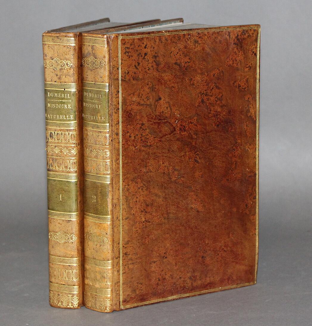 DUMÉRIL.- Traité élémentaire d'histoire naturelle..., 1807. Édition ornée de 33 planches.