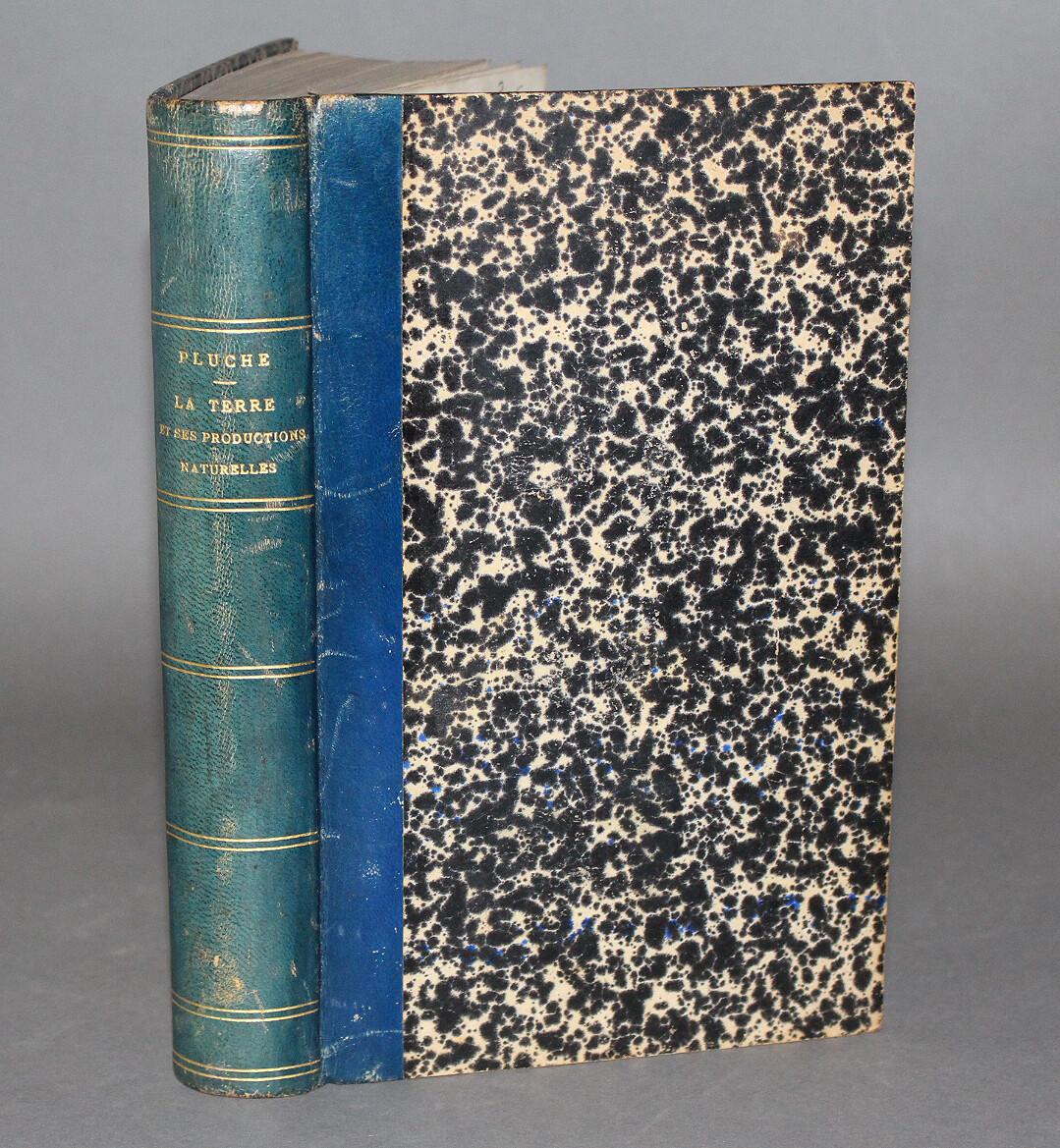 PLUCHE.- Le Spectacle de la Nature..., 1875. Nouvelle édition peu commune de ce livre célèbre.