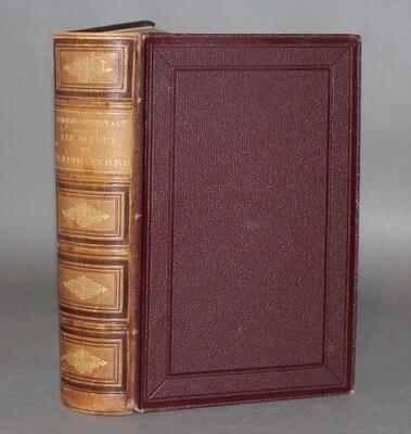VILMORIN-ANDRIEUX. Les Fleurs de pleine terre, 1894. Edition illustrée de 6 planches en couleurs dont 5 plans de jardins d'après Edouard André, 1 plan en noir et 1600 gravures dans le texte.
