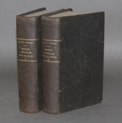 MILLET-ROBINET, Cora.- Maison Rustique des Dames. Dixième édition, vers 1885.