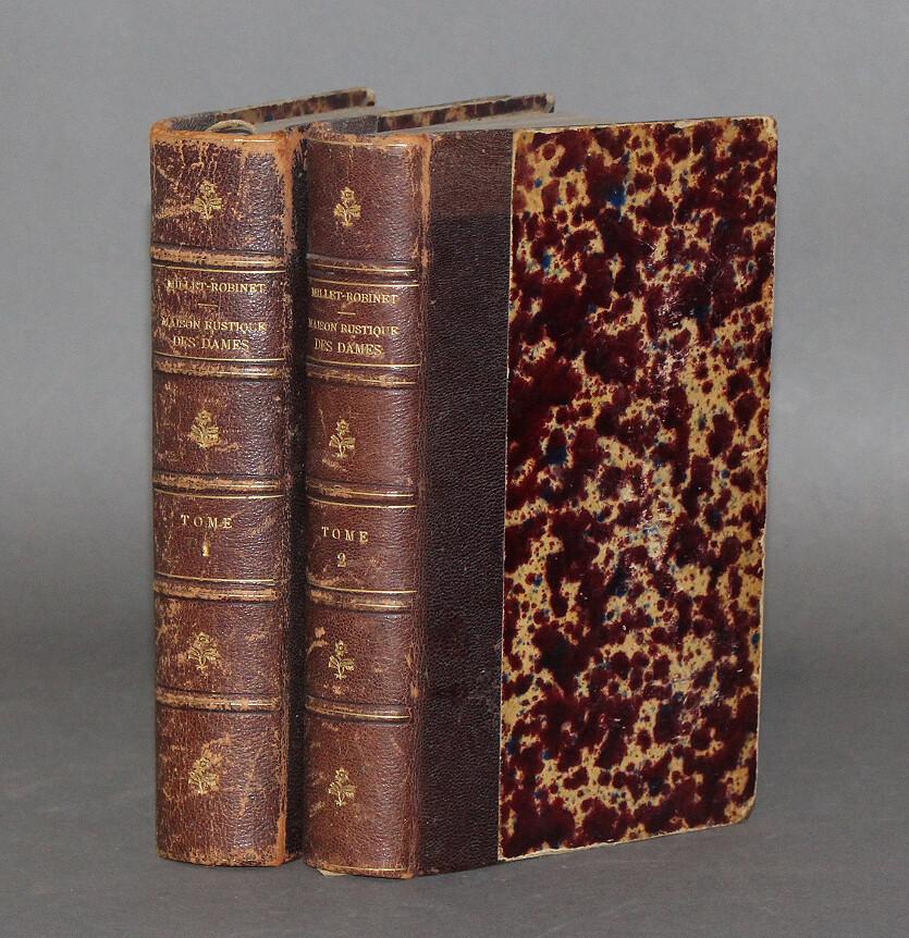 MILLET-ROBINET, Cora.- Maison Rustique des Dames. Seizième édition, 1906.