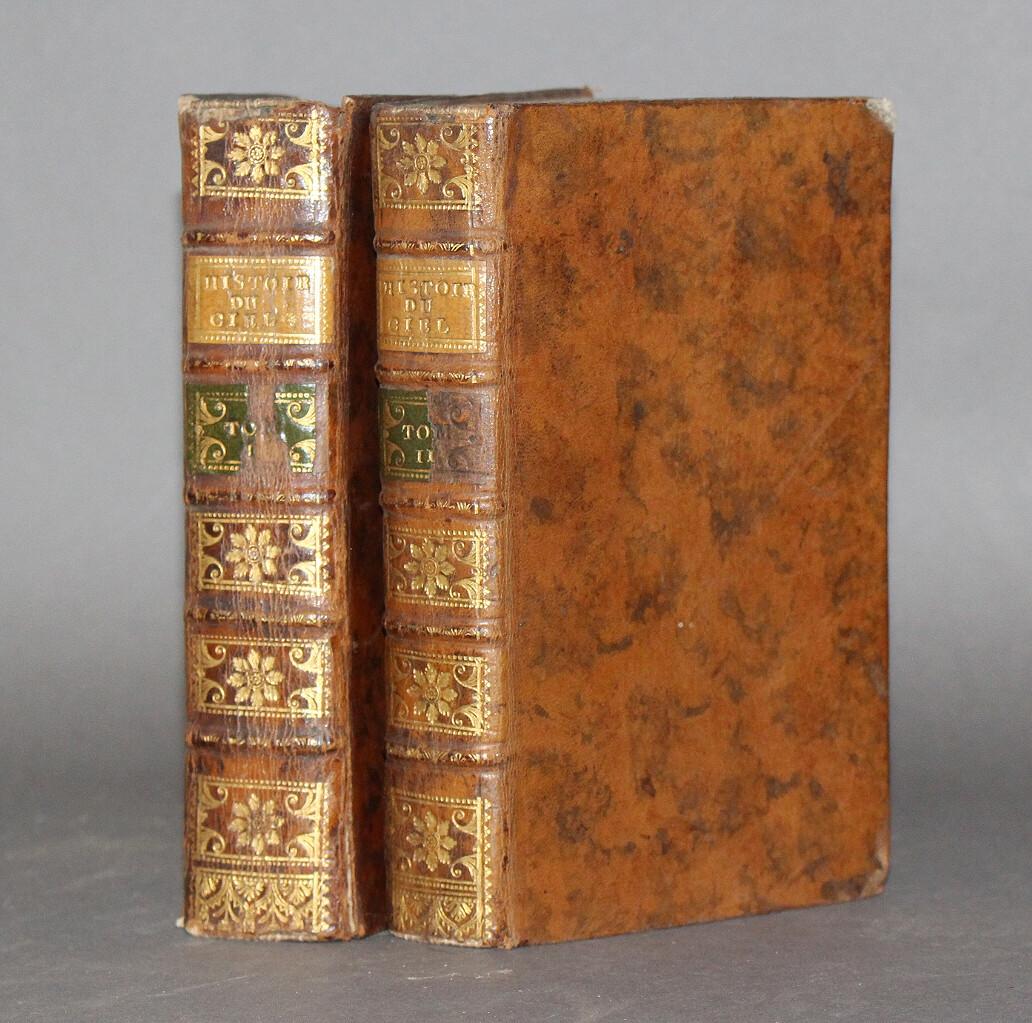 PLUCHE.- Histoire du ciel..., 1748. Édition ornée d'un frontispice gravé et de 25 planches hors texte.