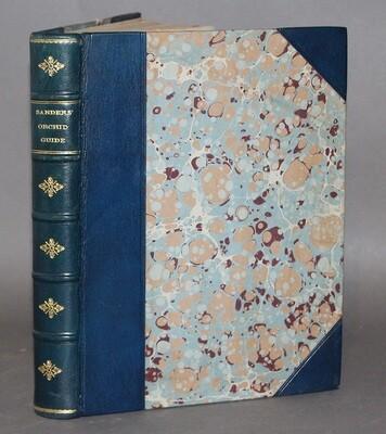 SANDERS. Sanders' Orchid Guide. 1927.