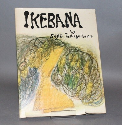 IKEBANA.- Sofu Teshigahara, his life and art by Sumio Mizusawa. Fujicolor photographs by Ken Domon- Tokyo, Sogetsukai, 1952.