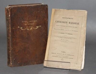 COSSON & GERMAIN.- Introduction à une flore analytique et descriptive des environs de Paris..., 1842.  Édition originale avec le supplément.