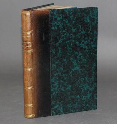 CORREVON.- Les Fougères rustiques, 1890. Édition originale.